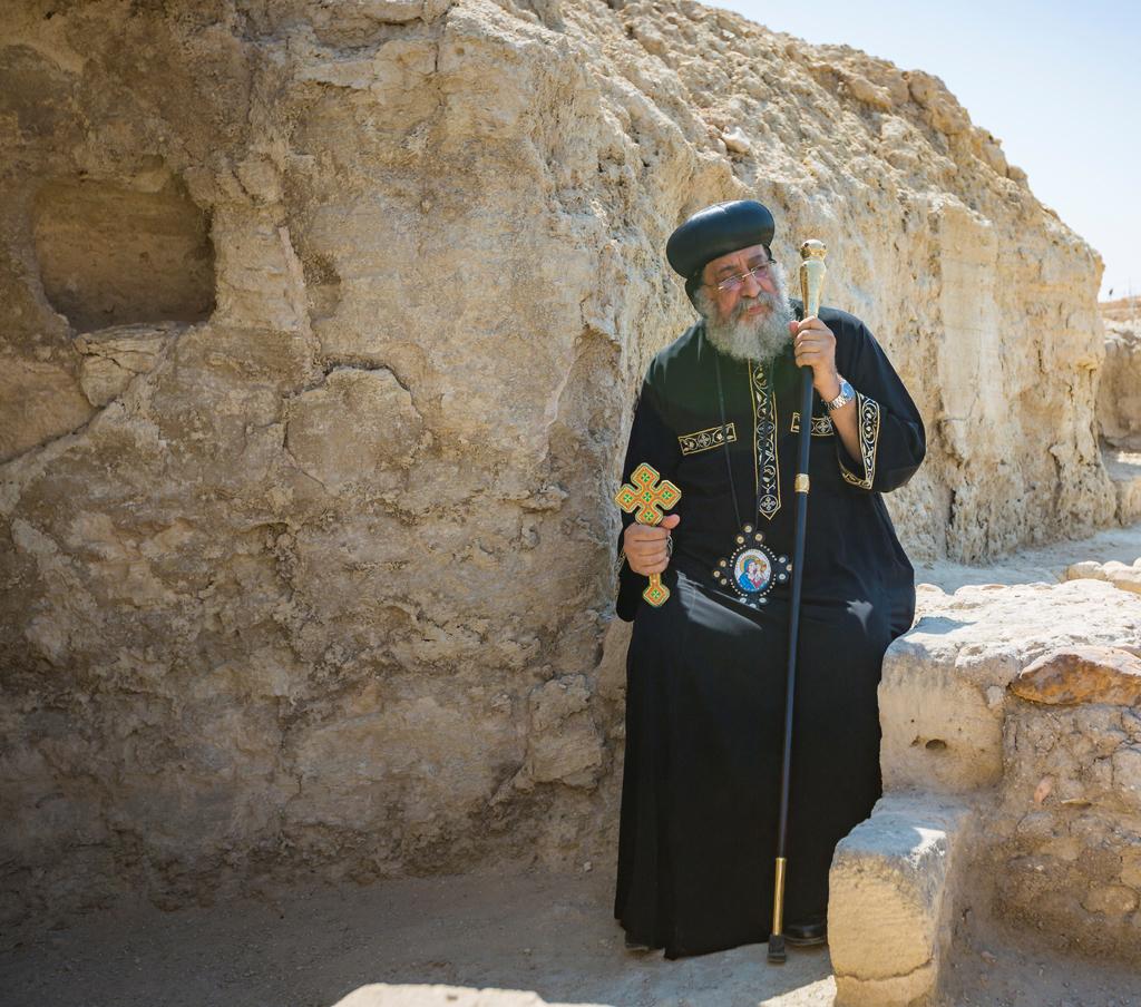 H.H. Coptic Pope Shenouda III